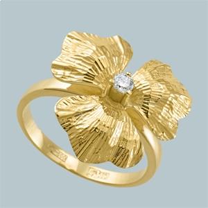 WorldGold - Золотые кольца с бриллиантами