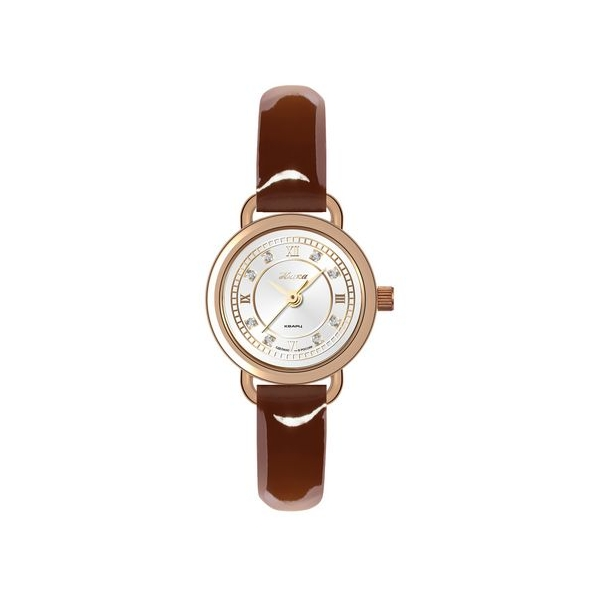 Водонепроницаемость: 3 АТМ (30 м); Категория: Женские золотые наручные часы; Стекло: минеральное с сапфировым